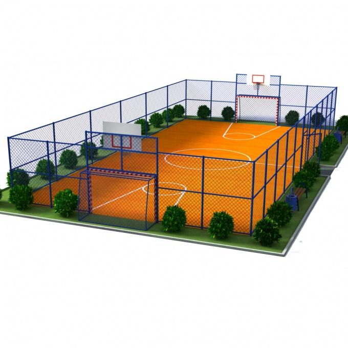 Спортивные площадки будут установлены в пяти районах города