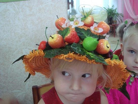 Украшаем детскую шляпку своими руками